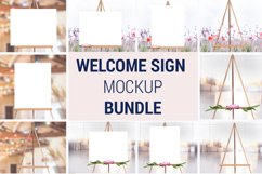 Easel Mockup BUNDLE, Welcome sign, Wedding Sign Mockup, 996 Product Image 2