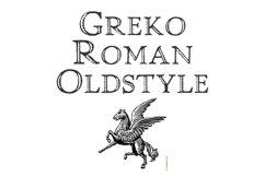 Greko Roman Oldstyle Product Image 1