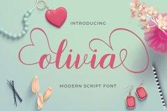 Modern Script Font Bundle Product Image 20