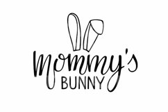 Baby Easter SVG Bundle. Happy Easter SVG set. Easter Bunny Product Image 4