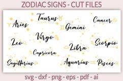 Zodiac signs SVG, Zodiac svg, Horoscope SVG, Astrology SVG Product Image 1