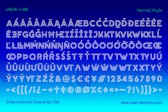 eNeon Layered Font Product Image 2