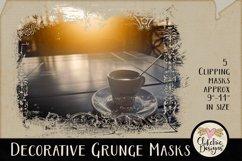 Decorative Grunge Photoshop Clipping Masks & Tutorial Product Image 5