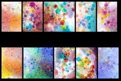 50 Oil Bubble Rainbow Photography Backgrounds Product Image 4