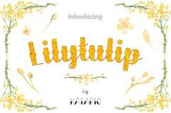 Lilytulip Script Font Product Image 1