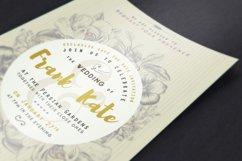 Vintage Wedding Invitation I Product Image 2