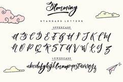 Blomming - Brush Font Product Image 2