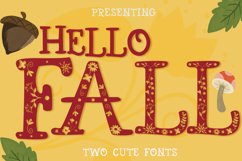Hello Fall Font Product Image 1