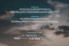 Airwings - Retro Narrow Sans Serif & Free Grunge Texture Product Image 2