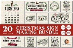 !! HUGE !! Christmas Sign Making Bundle Product Image 1