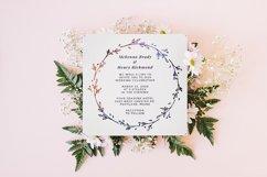 Wreath Wedding Invitation Product Image 3