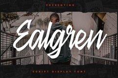 Web Font Ealgren Font Product Image 3
