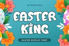 Web Font Easter King - Easter Display Font Product Image 1