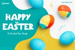 Web Font Easter Party - Cute & Playful Easter Product Image 3
