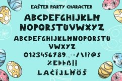 Web Font Easter Party - Cute & Playful Easter Product Image 4