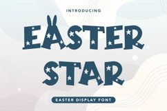 Easter Star - Easter Display Font Product Image 1