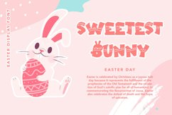 Easter Sunday - Easter Display Font Product Image 4