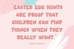 Web Font Easter Sunday - Easter Display Font Product Image 4