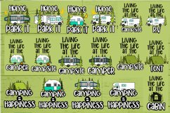 Roosell's Camping SVG Bundle Product Image 2
