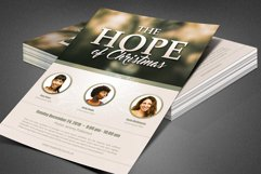 The Hope of Christmas Church Flyer Product Image 4