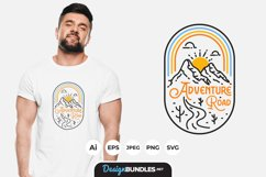 Adventure Road Tripper for T-Shirt Design Product Image 1