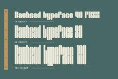 Bauhead Typeface   Font Product Image 2