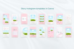 """Beauty Pink Stories, Instagram Canva Tempates """"ROSY"""" Product Image 4"""