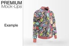 Men's Full-Zip Hoodie Mockup Product Image 6