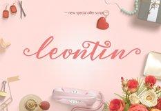 Leontin Script  Product Image 1