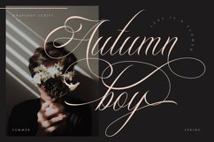 Rhapsody | Calligraphy Script Product Image 7