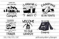 Camping Bundle - Camping Shirts SVGs Product Image 1