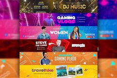Epic Youtube Channel Art Banners Set 10 Product Image 1
