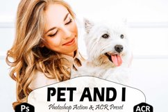 10 Pet And I Photoshop Actions And ACR Presets, Animal Ps Product Image 1