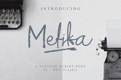 Mefika Vintage Script Font Product Image 1