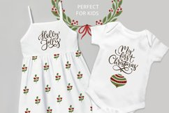 Christmas lettering & Christmas SVG set. Product Image 2