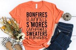 Fall Quote - Flannel Bonfires S'Mores Campfires Pumpkins Product Image 3