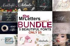 The MrLetters Font Bundle $1/Font Product Image 1