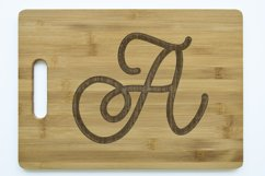 Fancy Finesse Lettering - Perfect for Monograms! Product Image 5