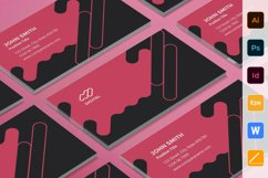 Digital Advertising Agency Business Card Product Image 1