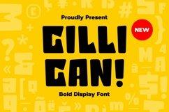 Web Font Gilligan - Bold Display Font Product Image 1