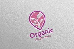 Pin Locator Natural and Organic Logo design template 6 Product Image 4