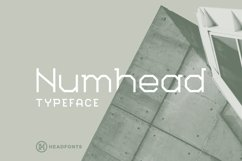 Numhead Typeface | Font Product Image 1