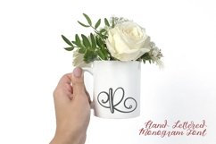 Hand Lettered Monogram Font - Perfect For Personalization! Product Image 5