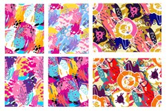 Abstract trendy pattern set Product Image 4