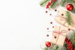 Christmas background at white Product Image 1