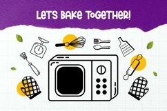 Web Font Kitchenware Dingbat Product Image 4