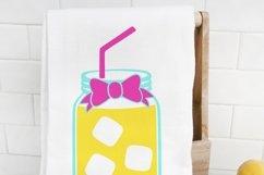 Lemonade SVG, summer drink cut file Product Image 2