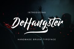DeHangster Typeface Product Image 1