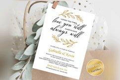 Renew Vows Invitation Template, Anniversary Invite Product Image 1
