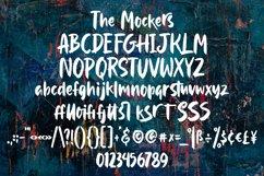 Mockers - Brush Font Product Image 5